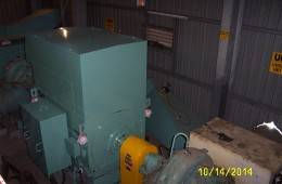 Installing of a new 820KW 11KVA 6 pole Electric Motor