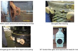 "36"" Gordon Marr gate valve Overhaul"